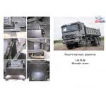 Защита Mercedes-Benz Actros 2003-2008 грузовий а м МКПП - Кольчуга