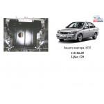 Защита Lifan 520 2005- V-1,3; 1.6; МКПП кроме 1.6L Tritec двигатель и КПП - Кольчуга