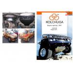 Защита Citroen С3 Picasso 2009- V- 1,4 МКПП двигатель и КПП - Кольчуга