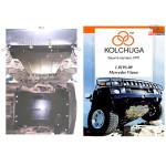 Защита Mercedes-Benz Vito D (W 639) 2004- V- все двигатель, КПП, радиатор - Kolchuga