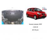 Защита Kia Picanto 2008-2011 V-1,1 МКПП АКПП двигатель и КПП - Кольчуга