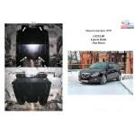 Защита Lancia Delta 2008- V-1,4Т; 1,6 D двигатель, КПП, радиатор - Kolchuga