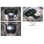 Защита Subaru Outback  III 2003-2009 V 2,0 МКПП двигатель, КПП, радиатор, раздатка - Kolchuga