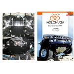 Защита ВАЗ Нива - 2121 2010- 1,7 i двигатель, КПП, радиатор - Kolchuga