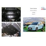 Защита Citroen DS3 2010- V-1,6 двигатель, КПП, радиатор - Kolchuga