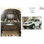 Защита Chery Beat 2011- V-1,3 МКПП двигатель и КПП - Кольчуга