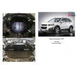 Защита Chevrolet Captiva 2011- V-2,4 двигатель и КПП - Кольчуга