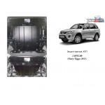 Защита Chery Tiggo 3 2014- V- все двигатель, КПП, радиатор - Kolchuga