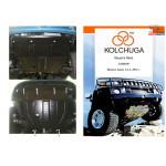 Защита Daewoo Lanos 2012- V-1.4 АКПП двигатель и КПП - Кольчуга