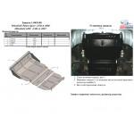 Защита Mitsubishi L200 2006- V-все радиатор , двигатель,редуктор - Кольчуга
