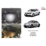Защита Volkswagen Jetta 2011- 1,4; МКПП двигатель и КПП - Кольчуга