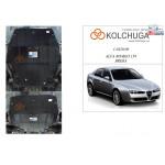 Защита Alfa Romeo Brera 2005-2010 V-1.9JTDM, двигатель и КПП - Kolchuga