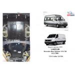 Защита Mercedes-Benz Sprinter 2006-2012 V- все двигатель, КПП, радиатор - Kolchuga