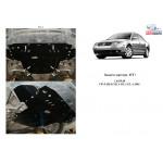 Защита Volkswagen Passat B5.5 GP 2000-2005 V-1,8 T АКПП двигатель и КПП - Кольчуга