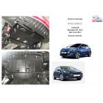 Защита Hyundai I-30 2012 V-1,4 D; МКПП АКПП только дизель двигатель и КПП - Кольчуга