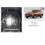 Защита Mitsubishi Outlander XL 2012- V-2,0 вариатор двигатель и КПП - Кольчуга