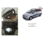 Защита Mazda 5 2005-2010 V-1.8; 2.0 двигатель, КПП, радиатор - Kolchuga