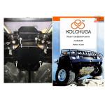 Защита Ford Kuga захист редуктора заднього мосту 2008-2013 V-2,0 TD; 2,5 TDI захист редуктора заднього мосту - Kolchuga