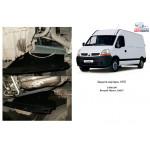 Защита Renault Master 1998-2010 V-3,0 DCI з кондиціонером двигатель, КПП, радиатор - Kolchuga