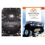 Защита Ford Focus III/EcoBoost/C-Max 2011- V- все двигатель, КПП, радиатор - Kolchuga