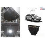 Защита Ford Kuga EcoBoost 2013- V- все двигатель, КПП, радиатор - Kolchuga