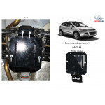 Защита Ford Kuga захист редуктора заднього мосту 2013- V- все захист редуктора заднього мосту - Kolchuga
