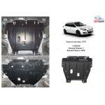 Защита Renault Fluence 2012- V-2,0 i; 1,5 TDCI; двигатель, КПП - Kolchuga