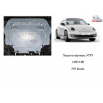 Захист Volkswagen Beetle 2011- V-2,0 TDI двигун, КПП, радіатор - Kolchuga