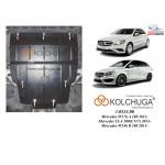 Защита Mercedes-Benz W 176 А 180 2013- V-2,0 CDI двигатель, КПП, радиатор - Kolchuga