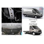 Защита Ford Transit/Transit Custom 2013- V-2.2 D; 2.2 TDCI; двигатель, КПП, радиатор - Kolchuga