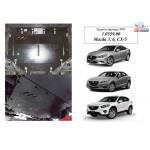 Защита Mazda 3 2014- V-1,5; двигатель, КПП, радиатор - Kolchuga