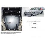 Защита Lexus GS 300 2005-2012 V-3,0; 3,5; двигатель, КПП, радиатор - Kolchuga