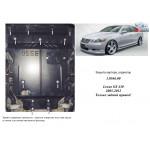Защита Lexus GS 430 2005-2012 V-4,3; двигатель, радиатор - Kolchuga