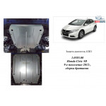 Защита Honda Civic IX 5D хетчбэк 2012- V-1,4; 1,8 двигатель, КПП - Kolchuga
