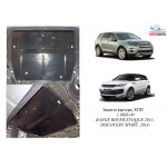 Защита Range Rover Discovery Sport 2014- V-2,2D двигатель, КПП - Kolchuga