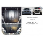 Защита Volvo S90 2015- V-2,0TDI двигатель, КПП - Kolchuga
