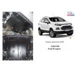 Защита Ford Ecosport/EcoBoost 2013- V- все двигатель, КПП, радиатор - Kolchuga