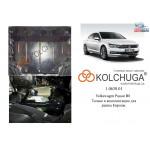 Защита Volkswagen Golf -7 2012- V- все двигатель, КПП, радиатор - Kolchuga