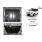 Защита Citroen C4 Picasso 2013- V-1,6 HDI двигатель, КПП, радиатор - Kolchuga
