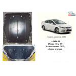 Защита Honda Civic IX 4D седан 2012- V-1,8 двигатель, КПП - Kolchuga