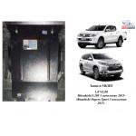 Защита Mitsubishi L200 2015- V-2,4TDI захист КПП - Kolchuga