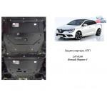 Защита Renault  Megane IV 2016- V-1,5 DCI; 1,2; двигатель, КПП - Kolchuga