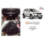 Защита Chery Tiggo 2 2017- V-1,5і двигатель, КПП - Kolchuga