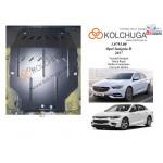 Защита Chevrolet Malibu 2015- V- 1.5XFT двигатель, КПП - Kolchuga