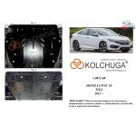 Защита Honda Civic X 4D седан 2015- V-1,5T двигатель, КПП - Kolchuga