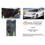 Защита Porsche Panamera 2011-1016 V-3.0 TDI двигатель, КПП - Kolchuga