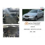 Защита Mercedes-Benz W 211 E270 2002-2008 V-тільки 2,7CDi двигатель, радиатор, рулевые рейки - Kolchuga
