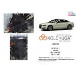 Защита Audi A8 D4 L 2010-2017 V-3,0TDI двигатель, КПП, радиатор - Kolchuga