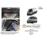 Защита Man TGE 2017- V-2,0 TDI двигатель, КПП, радиатор, рульова рійка - Kolchuga