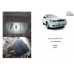 Защита Daewoo Lanos 1997- V-1.5; 1.6 двигатель и КПП - Кольчуга